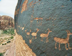 Prehistoric Sheep Art